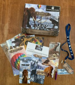 Escape the Crate Ice Age contents