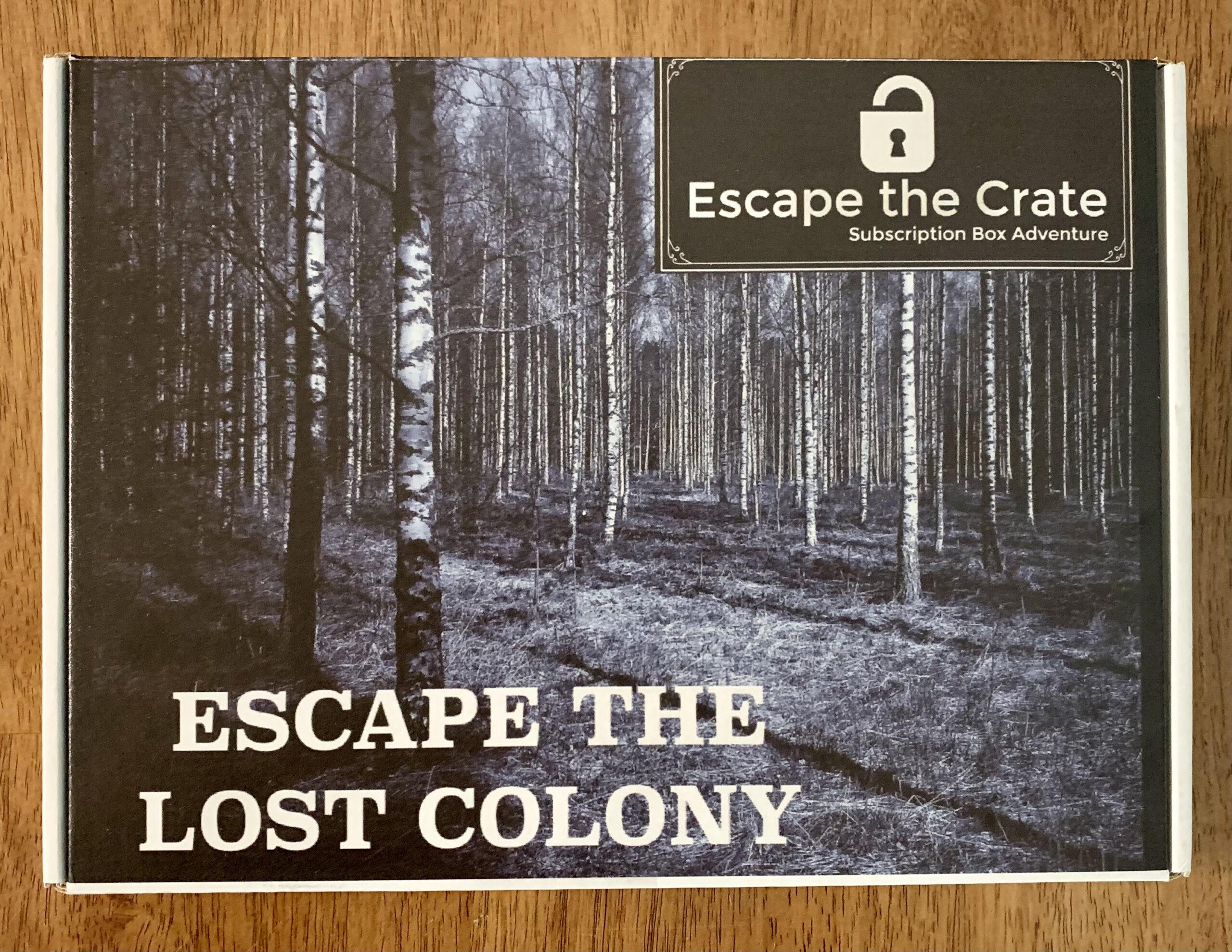 Escape the Lost Colony