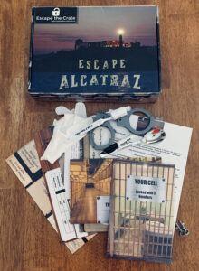 Escape the Crate Escape Alcatraz review contents