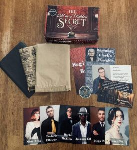 The Old and Hidden Secret Review contents