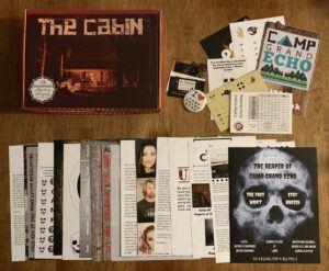 Deadbolt Mystery Society The Cabin contents