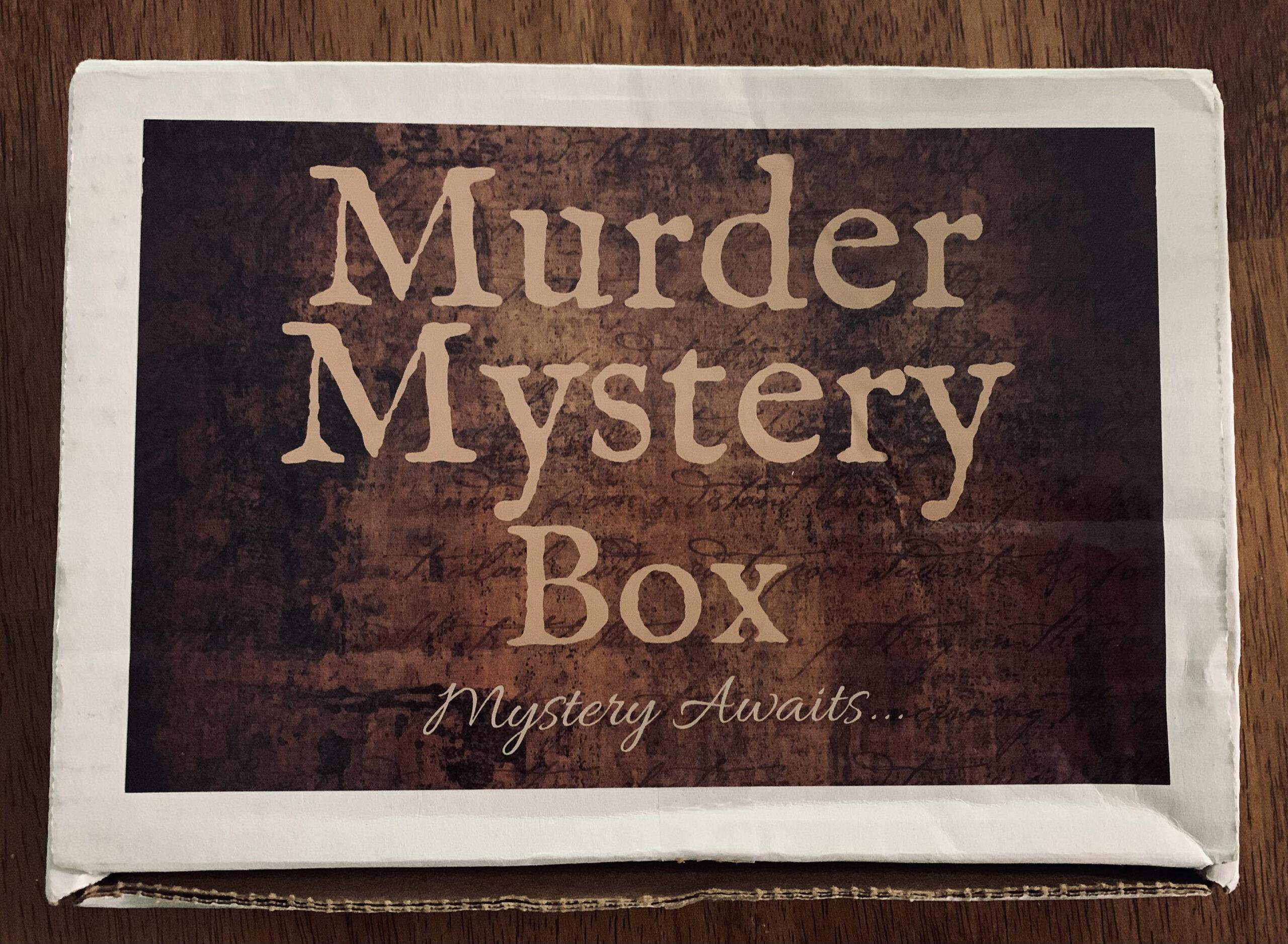 Murder Mystery Box