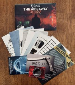 Return to Hideaway Motel contents